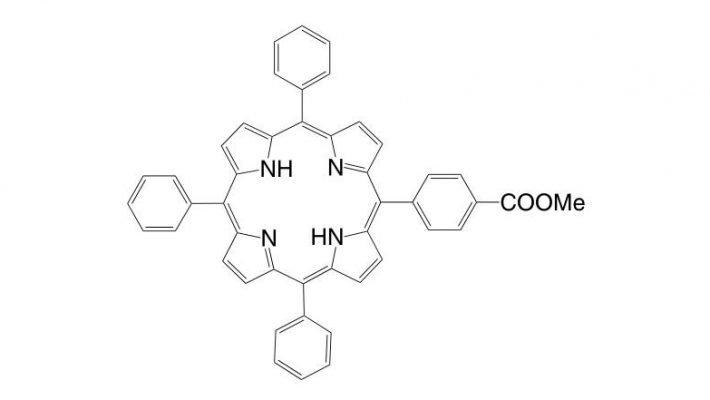 5-(4-Methoxycarbonylphenyl)-10,15,20-triphenylporphyrin CAS 119730-06-2