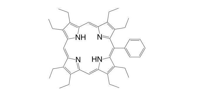 5-Phenyl-2,3,7,8,12,13,17,18-octaethylporphyrin CAS 60188-33-2