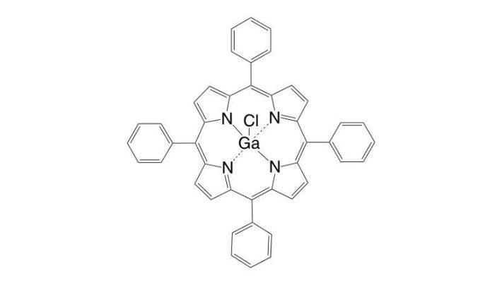 Gallium(III) 5,10,15,20-tetraphenylporphyrin chloride CAS 78833-52-0
