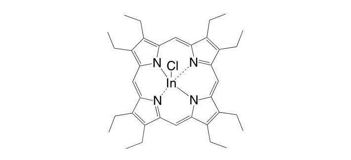 Indium(III) 2,3,7,8,12,13,17,18-octaethylporphyrin chloride CAS 32125-07-8