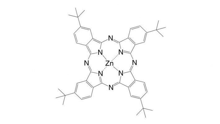 Zinc(II) 2,9,16,23-tetra(t-butyl)phthalocyanine CAS 39001-65-5