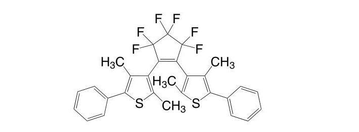 1,2-Bis(2,4-dimethyl-5-phenyl-3-thienyl)-3,3,4,4,5,5-hexafluoro-1-cyclopenten CAS 172612-67-8