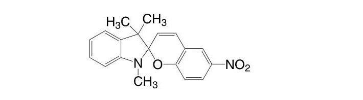 1,3,3-Trimethylindolino-6′-nitrobenzopyrylospiran CAS 1498-88-0
