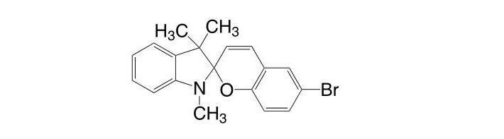 1,3,3-Trimethylindolino-6′-bromobenzopyrylospiran CAS 16650-14-9