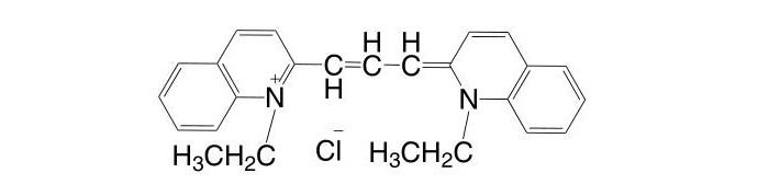 1,1′-Diethyl-2,2′-carbocyanine chloride CAS 2768-90-3