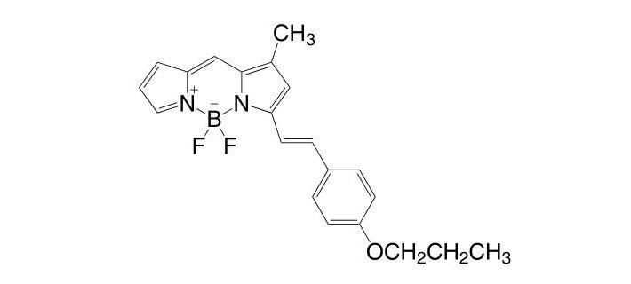 4,4-Difluoro-1-methyl-3-(4-propoxystyryl)-4-bora-3a,4a-diaza-s-indacene CAS 1201643-08-4