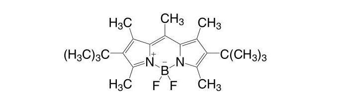 [[(4-tert-Butyl-3,5-dimethyl-1H-pyrrol-2-yl)(4-tert-butyl-3,5-dimethyl-2H-pyrrol-2-ylidene)methyl]methane](difluoroborane) CAS 137829-79-9
